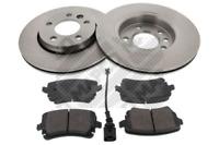 Bremsensatz, Scheibenbremse für Bremsanlage Hinterachse MAPCO 47780