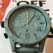 New Authentic Nixon 51-30 Chrono Light Green Watch A083-Light Green/Teal
