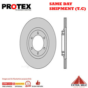 Protex Ultra Select Front Rotor Pair For HOLDEN JACKAROO/RODEO/SHUTTLE 1982-1988