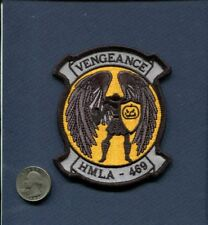 HMLA-469 VENGEANCE  Happy Halloween USMC MARINE CORPS Helicopter Squadron Patch