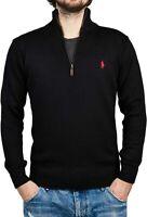 POLO RALPH LAUREN Half Zip Sweater Jumper For Men