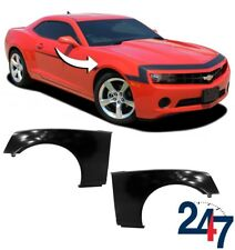 NEW CHEVROLET CAMARO 2010 - 2015 PRIMED FRONT WING FENDER PAIR SET