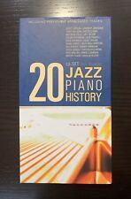 JAZZ PIANO HISTORY 20 CD BOX SET CD BRAND NEW