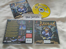Rayman PS1 (COMPLETE) Sony PlayStation rare no playstation label 2D platform