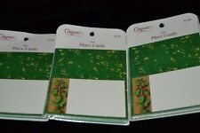 Vintage Set of 30 Caspari HOLLY Place Cards NOS Sealed! #67970P HOLIDAY