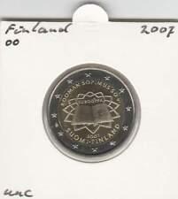 Finland 2 euro 2007 UNC : Verdrag van Rome