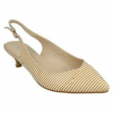 Slingbacks Kitten Synthetic Upper Heels for Women