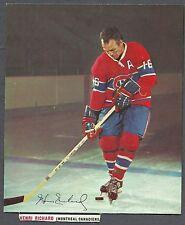 1967-68 Post Cereals (Canada) Hockey Tips, Canadiens' Henri Richard