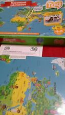 RARE LEAPFROG TAG MAPAMUNDI SPANISH INTERACTIVE WORLD MAP