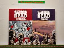 Livre BD WALKING DEAD - Volumes 1 à 4 - 2 x Album Double contenant 2 épisodes