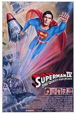 SUPERMAN 4 -1987- Orig 27x41 rolled movie poster-Christopher Reeve, Gene Hackman