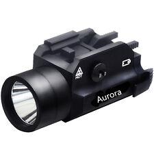 Tactical 220 lumens Torch Flashlight for picatinny & weaver rail. Pistol, rifle