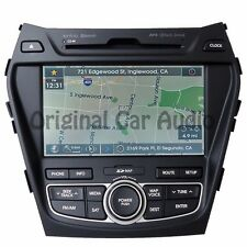 HYUNDAI Santa Fe AM FM XM Bluetooth Infinity HD Radio CD Player GPS Navigation