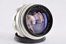 9088  Carl Zeiss Jena silver  Biotar 1.5 / 75  Exakta  Exa  Objektiv Lens DDR