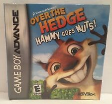 Over the Hedge: Hammy Goes Nuts (Nintendo Game Boy Advance, 2006) NEW Sealed