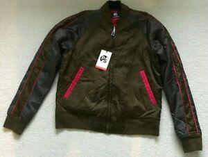 PAUL SMITH Reversible  Khaki BOMBER JACKET COAT Size M