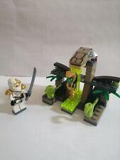 LEGO Minifigure Utensil Snake Serpent Staff /& Ninjago Hypnobrai Pattern VGC UK.