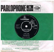 THE BEATLES I feel fine / She's a woman Parlophone R5200 classic 60's pop 45