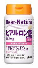 Asahi Dear-Natura Hyaluronic acid 60 tablets (30days), and Collagen, Ceramide