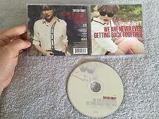 TAYLOR SWIFT WE ARE NEVER GETTING BACK TOGETHER USA 1 TRK WALMART CD (PROMO?)