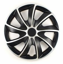 """SET OF 4 16"""" WHEEL TRIMS,RIMS TO FIT FORD FIESTA, FOCUS, FUSION + FREE GIFT #O"""