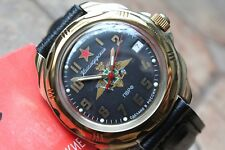 Vostok Komandirsky Russian Military Wrist Watch # 219633 NEW