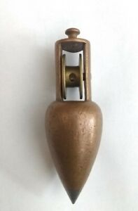 Vintage Stanley Copper Coated Plumb Bob