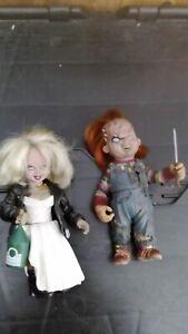 Neca 7inch Bride of Chucky Tiffany Horror figures