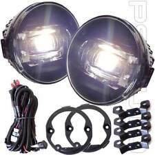 For 2007-2012 Nissan Sentra 6000K White Wire Switch DRL LED Fog Light Set w/Bulb