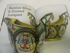 Antique Russian silver enamel & Faberge  moscow illustrated catalog, 2019