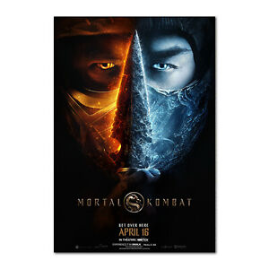 Mortal Combat Movie Poster 2021 - Official Art - High Quality Prints