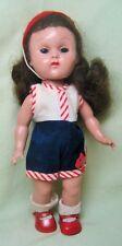 Vintage 1955 Vogue Ginny Slw Doll In Original Playsuit
