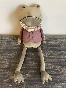 Riverside Rambler Frog Jellycat Soft Plush Toy Comforter BNWT