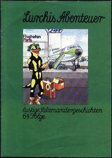 Lurchis Abenteuer lustige Salamandergeschichten 64.Folge von 1977 Werbecomicheft