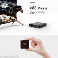 SCISHION V88 Mars II TV Box 4K Cortex-A7 Android 6.0 Quad-core 2GB+8GB Player