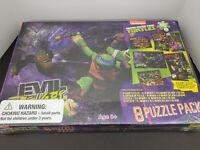 Teenage Mutant Ninja Turtles- 8 Puzzle Pack- Nickelodeon- 2014- Viacom- TMNT
