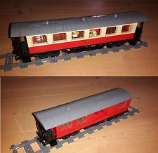 Eigenbau PDF - Bauanleitung für HSB-Wagen aus Lego® Steinen - Eisenbahn