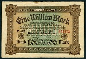 Germany 1.000.000 Mark , 1923