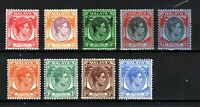 Malaysia - Straits Settlements 1937-41 values to 15c MH