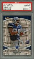2010 finest xfractor #110 DEZ BRYANT dallas cowboys rookie card PSA 10