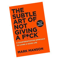 The Subtle Art of Not Giving a F*ck Mark Manson A Counterintuitive Life NEW HB