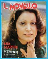 MIA MARTINI - IL MONELLO - RIVISTA 1976 - MUSICA ITALIANA
