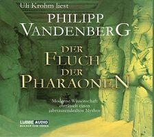 DER FLUCH DER PHARAONEN - Philipp Vandenberg & Uli Krohm - 4 x CD SET