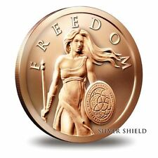 1 oz Copper Round - Standing Freedom