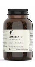 42Nutrition Omega 3 Pure Wild Fish Oil Supplement 1500Mg Fatty Acids 540 Mg EPA