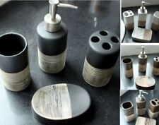 Round Ceramic Bath Accessory Sets