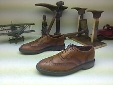 BROWN GAP MADE IN USA BROWN LEATHER WING TIP ITSHIDE BUSINESS POWER SHOES 9 D