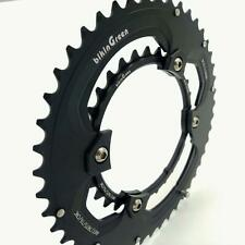 bikinGreen CNC Chainring 46/30T FoR Shimano 4 Arm 10-11Spd Road Cyclocross Tour