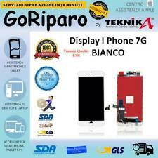 DISPLAY LCD TOUCH FRAME PER I PHONE 7G BIANCO COLORI COME ORIGINALE TIANMA