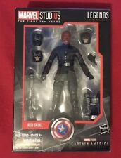Marvel Studios: The First 10 Years -Red Skull Action Figure- Legends Series NIB